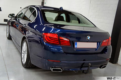 550i-3 (Wax-it.be) Tags: blue colour detail reflection dark shine photos mans le bmw gloss v8 perfection detailed detailing 550i glossit