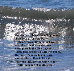 Sun & Surf (Messent) Tags: pictures ocean sea sun beach coast poetry waves pembrokeshire abereiddy poetryandpicturesinternational poetryforall