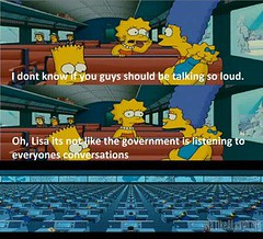 Its not like the government is listening to us (Fight It Right Now) Tags: people usa snow america train movie us seat president bart lisa computers simpsons maggie congress government marge conversations snowden loud federal spying obama stalking senate nsa