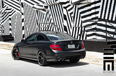 Exclusive Motoring Mercedes C63 AMG (Exclusive Motoring) Tags: photography mercedes miami exotic neice worldwide raymond custom luxury exclusive matte amg motoring c63 forgiato
