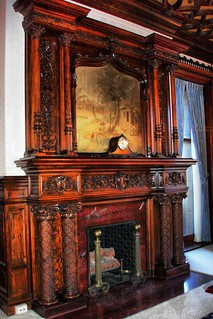 Strong Mansion ~ Fireplace ~ Gannon University ~ Erie Pa