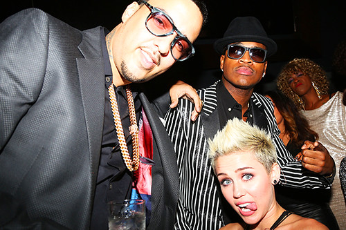 French Montana and Miley Cyrus preview the aint worried about nothing remix