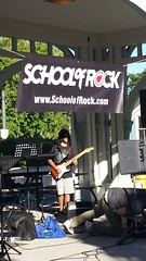 School of Rock Performs (Unionville BIA) Tags: street school music ontario canada rock live main performance millennium bandstand markham unionville