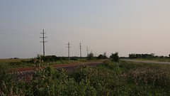 Amtrak Flying By (JayLev) Tags: speed amtrak pontiac dwight odell amtk