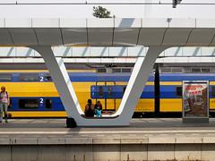 Zweeds? - Swedish? (naturum) Tags: summer netherlands station train geotagged arnhem nederland august swedish zomer augustus trein svensk 2013 zweeds geo:lat=5198471495 geo:lon=590028048