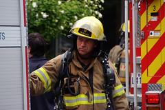 (Le Chibouki frustr) Tags: montral montreal firemen pompiers homa hochelagamaisonneuve lupinlevorace fujis5pro s5pro fujifilmfinepixs5pro topazdenoise lechiboukifrustr