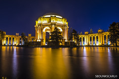 palace of fine arts (sbdunkscarl) Tags: bridge blue sky kite building tower beach field yellow night foot 50mm golden bay sand gate san francisco long exposure mark 14 fine steps arts sfmoma palace east filter nd area di setup 18 fx crissy d800 dx suvero 2470mm 2013 1424 at sbdunkscarl wwwsbdunkscarlblogspotcom d800e sbdunkscarlblogspotcom httpwwwsbdunkscarlblogspotcom