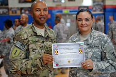 Sustaining Victory! (143d Sustainment Command (Expeditionary)) Tags: thomas ceremony september patch command deployment armyreserve 2013 sustainment 143d commandsergeantmajor 143desc asgkuwait 143dsustainmentcommandexpeditionary