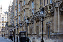 Palace of Westminster, street level view