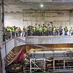 Pornire utilaje care sapa tunelurile Magistralei 5 de metrou