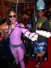 P1100885 (Randsom) Tags: nyc newyork costume october cosplay convention superhero comicbooks hawkeye marvelcomics avengers javits superheroine 2013 nycomiccon newyorkcomiccon