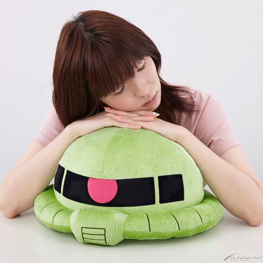 GUNDAM FRONT TOKYO 薩克量產型抱枕