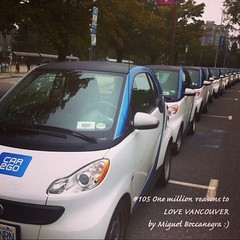 | no.105 | | car2go | (onemillionreasonstolovevancouver) Tags: world city people tourism home promotion vancouver cool realestate profile today l4l vancity downtownvancouver metrovancouver onemillion cityofvancouver vancouverite vancouvercity vancouvertourism vancouverrealestate vanone awesomevancouver car2go car2govancouver instaphoto instagood instafollow uploaded:by=flickrmobile flickriosapp:filter=nofilter miguelboccanegra thegreatervancouverarea
