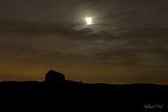 Moon Over the Roman Ruins (San Francisco Gal) Tags: uk wroxeter viroconium mygearandme mygearandmepremium mygearandmebronze mygearandmesilver mygearandmegold mygearandmeplatinum mygearandmediamond