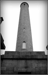 Round Tower memorial (catb -) Tags: cemetery dublin ireland glasnevin prospect memorial monument grave tomb crypt bw oconnell roundtower fa monochrome blackandwhite