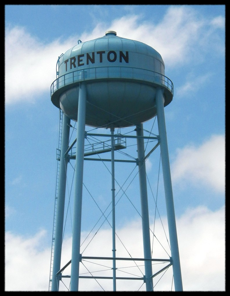 Trenton Water Tower Demolition : The world s most recently posted photos of tower and