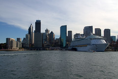 Voyager of the seas in Circular Quay (Val in Sydney) Tags: boat ship sydney australia quay nsw voyager cbd circular seas australie sruise