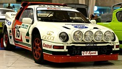 Ford RS 200 (this is the car involved in The accident at Rally Portugal)