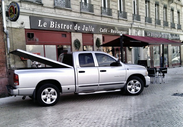 france café car restaurant automobile julie pickup voiture american dodge transports toulouse ram 1500 bistrot 2014 véhicule américaine flickrandroidapp:filter=none