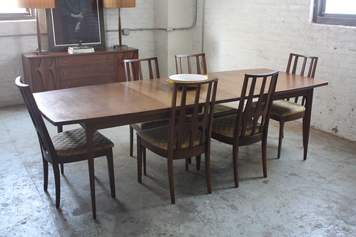 95c0df1d9e04 Beautiful Broyhill Brasilia Mid Century Dining Table and Chairs (U.S.A.  1960s)