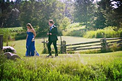prom (carleigh~) Tags: blue friends boy green nature girl pretty dress makeup tie curls scene suit prom heels