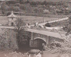 Dartbridge Toll-House 1928 demolished 1972 (Bridgemarker Tim) Tags: tolls turnpikes tollhouses devonbridges dartbridge