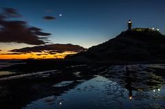 BlueHourFarotime (Suso Sinmiedo) Tags: light sea moon lighthouse marina faro mar spain alicante nocturna guidinglight elcabo smcpentaxda1224mmf4edalif guidinglights cabodelashuertas cabodelahuerta pentaxk5ii