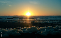 (*paz) Tags: chile sunset sol colors atardecer mar agua playa naranjo porma teodoroschmidt xregióndearaucanía