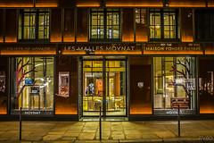 Maison fonde en 1849 (Explore) (RVBO) Tags: paris magasin couleurs nuit devanture