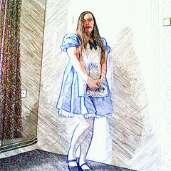 hermiones alice in wonderland costume (sketched pic) (hermionesimpson) Tags: blue white black costume shoes dress alice cd tights crossdressing tgirl apron transgender trans wonderland transexual transgendered fancydress crossdresser crossdress ts tg blackshoes bluedress crossdressed crossdresses whitetights transfemale whiteapron transwoman aliceinwonderlandcostume alicecostume aliceinwonderlandfancydress alicefancydress {vision}:{outdoor}=0946 {vision}:{text}=052