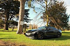 Picturesque (ANB | Automotive) Tags: black breakfast hall nissan driver meet supercar gtr scd 2014 langar
