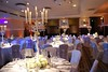 wedding decoration midland hotel manchester (pukkapartyplanners) Tags: candelabras weddingchaircovers weddingmidlandhotelmanchester