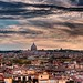 Er Cupolone and some Rome rooftops