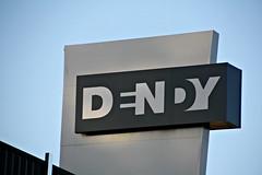 2014 Newtown Sydney: Dendy Sign (dominotic) Tags: streetart sign ads graffiti modernart sydney drawings australia nsw newsouthwales graffito newtown advertisements stencilart socialcommentary 2014 innercitysydney dendytheatre