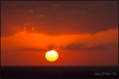 That Caribbean Sky!  (Dahai Z) Tags: ocean sunset sea sailing caribbean royalcaribbean majestyoftheseas canonef70200f4lisusm canoneos60d springbreak2014 cruise2014