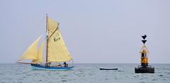 Eve Of St Mawes (R~P~M) Tags: uk greatbritain sea england coast boat marine cornwall sailing unitedkingdom yacht maritime sail nautical fowey cutter