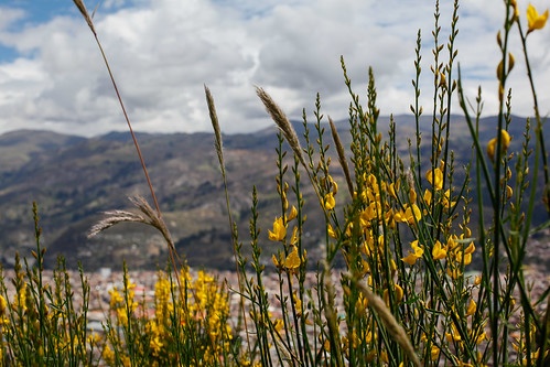 On the way up the Hill, overlooking Huaraz