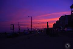 Vizag Sunset (Perpetually Shaw) Tags: city pink sunset urban india silhouette sunrise twilight nikon cityscape photographer dusk serene andhra vizag nikond5200
