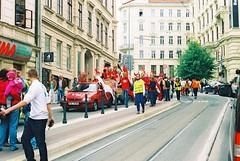 Praktica MTL 5 +  Helios 44-2 2/58 - Majáles (Rag) Brno 2014 - 06 (Kojotisko) Tags: street city people streets students vintage person czech streetphotography brno cc creativecommons vintagecamera czechrepublic streetphoto persons expired rag praktica kodacolor helios 2014 helios44 prakticamtl5 helios442 majáles kodacolorvrplus helios442258 prakticamtl kodacolorvrplus200 kodacolorvr majálesbrno2014