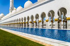 Sheikh Zayed Grand Mosque, Abu Dhabi, UAE (dorosario-photos) Tags: architecture dubai muslim islam mosque abudhabi arab dome pillars abu dhabi islamic nationalgeographic grandmosque islamicdomes