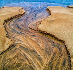 Flowing sand (Impact Imagz) Tags: sea seascape beach nature sand shoreline westernisles hdr sandart isleoflewis outerhebrides linesinnature gressbeach