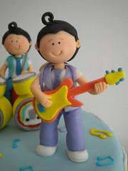 Detalle Torta Los Rulos (Pastelera Bakery Shop) Tags: palmademallorca pasteles islasbaleares pastelesdecorados pastelesdecoradospalmademallorca
