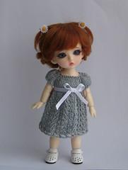 IMG_6309а (KnittedBeads) Tags: doll dress dino knit bjd jaime knittedbeads
