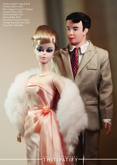 Be my VALENTINE! (thitipatify) Tags: classic love robert fashion vintage magazine toy model glamour doll quality barbie valentine retro hollywood glam gown silkstone robertbest