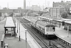 Saintly Disposition (Feversham Media) Tags: lancashire railwaystations sthelens merseyside merseyrail dmus dieselmultipleunits sthelenscentral sthelensshawstreet class108dmus derbydmus sthelensshawstreetstation