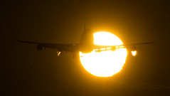 "a suncrossing plane • <a style=""font-size:0.8em;"" href=""http://www.flickr.com/photos/125767964@N08/16273347569/"" target=""_blank"">View on Flickr</a>"