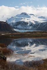 (Attila Pasek) Tags: lake snow reflection ice iceland glacier