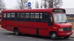 Burnley (Andrew Stopford) Tags: mercedesbenz burnley transbus beaver2 mmcoaches o814 hyndburnhopper mc53mmc