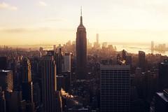 29$ (David Schermann) Tags: new york city travel sunset ny david building skyline view state center empire rockefeller schermann davidschermann