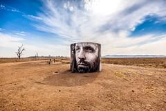 Winton Wetlands-1 (Quick Shot Photos) Tags: streetart art canon graffiti mural au australia victoria benalla 2016 walltowall taminick